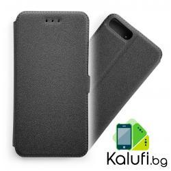 Калъф – тефтерче със страничен магнит за iPhone 7 PLUS (7+) / 8 PLUS (8+) (ЧЕРЕН)