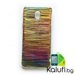 Кейс - гръб с преливащи цветове за Samsung Galaxy J3 (2017)
